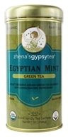 Zhena's Gypsy Tea - Green Tea Egyptian Mint - 22 Tea Bags by Zhena's Gypsy Tea