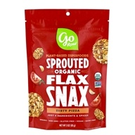 Go Raw - Organic Flax Snax Pizza - 3 oz. by Go Raw