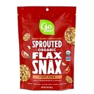 Image of Go Raw - Organic Flax Snax Pizza - 3 oz.