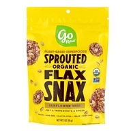 Image of Go Raw - Organic Flax Snax Sunflower - 3 oz.
