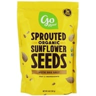 Go Raw - 100% Organic Sprouted Sunflower Seeds - 1 lb. (859888000097)