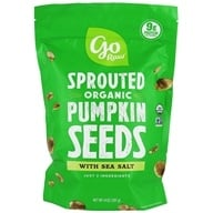 Go Raw - Sprouted Organic Pumpkin Seeds With Sea Salt - 16 oz.