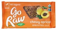 Go Raw - Organic Sprouted Bar Chewy Apricot - 1.8 oz.
