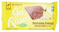 Go Raw - Organic Live Energy Flax Bar Banana Bread - 1.2 oz. (859888000066)