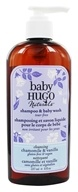 Image of Hugo Naturals - Hugo Baby Shampoo & Baby Wash Cleansing Vanilla Chammomile - 8 oz.