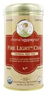 Image of Zhena's Gypsy Tea - Herbal Red Tea Fire Light Chai - 22 Tea Bags (formerly Fireside)