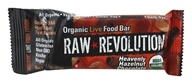 Image of Raw Revolution - Organic Live Food Bar Heavenly Hazelnut Chocolate - 1.8 oz. (formerly Hazelnut & Chocolate)