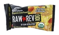 Raw Revolution - Organic Live Food Bar Raw Rev 100 Calorie Golden Cashew - 0.8 oz. (formerly Cashew & Agave Nectar)