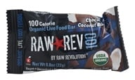 Raw Revolution - Organic Live Food Bar Raw Rev 100 Calorie Chocolate Coconut Bliss - 0.8 oz.