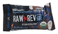 Raw Revolution - Organic Live Food Bar Raw Rev 100 Calorie Chocolate Coconut Bliss - 0.8 oz. (formerly Chocolate & Coconut) by Raw Revolution