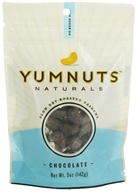 Yumnuts Naturals - Slow Dry-Roasted Cashews Chocolate - 5 oz., from category: Health Foods