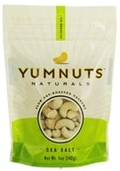 Yumnuts Naturals - Slow Dry-Roasted Cashews Sea Salt - 5 oz. - $4.29