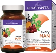 New Chapter - Every Man Whole-Food - 48 Tablets, from category: Vitamins & Minerals