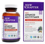 New Chapter - Every Man Whole-Food - 72 Tablets by New Chapter