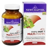 Image of New Chapter - Every Man II 40 + Whole Food Complexed Multivitamin - 96 Tablets