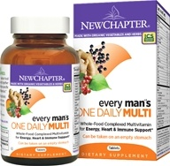 New Chapter - Every Man's One Daily - 24 Tablets (727783003263)