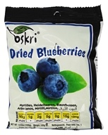 Oskri - Dried Blueberries Gluten-Free - 3.53 oz. by Oskri