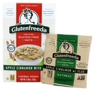 Glutenfreeda - Instant Oatmeal Apple Cinnamon with Flax 6 Packets - 10.5 oz.