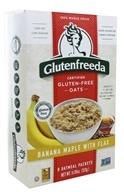 Glutenfreeda - Instant Oatmeal with Flax Banana Maple - 8 Packet(s)