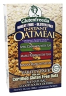 Image of Glutenfreeda - Instant Oatmeal Variety Pack 6 Packets - 10.4 oz.