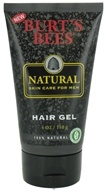 Burt's Bees - Natural Skin Care For Men Hair Gel - 4 oz.
