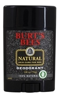 Burt's Bees - Natural Skin Care for Men Deodorant - 2.6 oz. (792850575004)