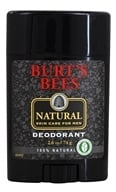 Burt's Bees - Natural Skin Care for Men Deodorant - 2.6 oz.