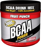 Image of Labrada - BCAA Power 100% Branched Chain Amino Acids Fruit Punch 5000 mg. - 500 Grams