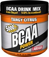 Image of Labrada - BCAA Power 100% Branched Chain Amino Acids Tangy Citrus 5000 mg. - 500 Grams