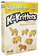Kinnikinnick Foods - KinniKritters Animal Cookies Graham Style - 8 oz. by Kinnikinnick Foods
