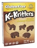 Image of Kinnikinnick Foods - KinniKritters Animal Cookies Chocolate - 8 oz.