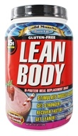 Labrada - Lean Body Hi-Protein Meal Replacement Shake Strawberry Ice Cream - 2.47 lbs. by Labrada