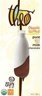 Theo Chocolate - Classic Collection Organic Milk Chocolate 45% Cacao Pure - 3 oz.