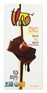 Theo Chocolate - Classic Collection Organic Dark Chocolate 70% Cacao Pure - 3 oz.