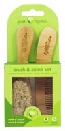 i Play - Green Sprouts Brush And Comb Set 0-6 Months Natural Color (094717589811)