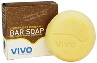 VIVO Natural Products - Moisturizing African Shea Butter Bar Soap Lemongrass & Verbena - 4.5 oz.