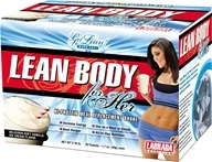 Labrada - Lean Body for Her Hi-Protein Meal Replacement Shake 20 X 1.7 oz. Packets Soft Vanilla Ice Cream by Labrada