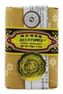 Image of Bee & Flower Soap - Bar Soap Sandalwood - 4.4 oz.