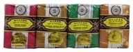 Bee & Flower Soap - Bar Soap Mixed Gift Pack - 4 Bars by Bee & Flower Soap