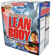Labrada - Carb Watchers Lean Body Hi-Protein Meal Replacement Shake 20 X 2.29 oz. Packets Strawberry Ice Cream by Labrada