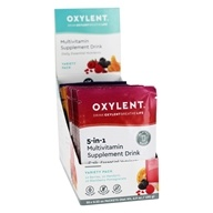 Oxylent - Oxygenating Multivitamin Drink Variety Pack - 30 Packet(s)