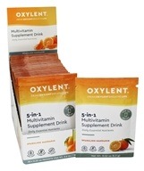Oxylent - 5-in-1 Multivitamin Supplement Drink Sparkling Mandarin - 30 Packet(s)