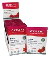 Oxylent - Oxygenating Multivitamin Drink Sparkling Berries - 30 Packet(s) by Oxylent