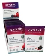 Oxylent - Oxygenating Multivitamin Drink Sparkling Blackberry Pomegranate - 30 Packet(s) by Oxylent