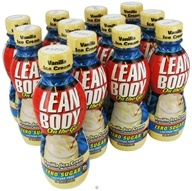 Labrada - Lean Body On the Go Hi-Protein Nutrition Shake RTD Vanilla Ice Cream - 14 oz.
