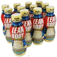 Labrada - Lean Body On the Go Hi-Protein Nutrition Shake RTD Vanilla Ice Cream - 14 oz. by Labrada