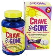ReNew Life - Crave Be Gone Natural Raspberry Flavor - 60 Chewable Tablets, from category: Diet & Weight Loss