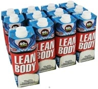 Labrada - Lean Body Hi-Protein Milk Shake RTD Vanilla Ice Cream - 17 oz. by Labrada