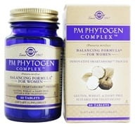 Solgar - Platinum Edition PM PhytoGen Complex - 60 Tablets, from category: Herbs