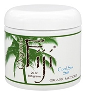 Organic Fiji - Body Polish Coral Sea Salt - 20 oz.